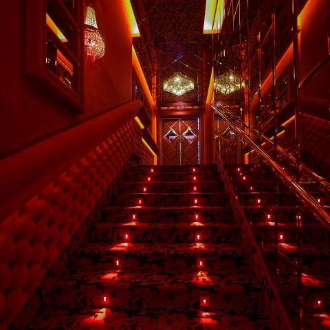 shilling night club elegance stairs